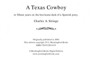 A Texas Cowboy by Charlie Siringo mentions Billy Williams and family