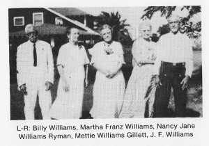 Billy Williams, Wife, Two Sisters and Brother