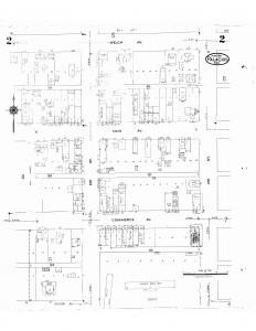 Sanborn Fire Insurance Map 1937 Palacios, TX